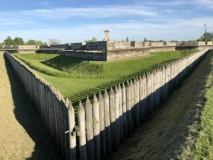 Stanwix Fort moat