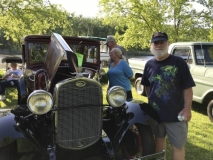 Car show in Little Falls