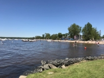 Lake Oneida beach