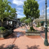 Washington Street walking mall