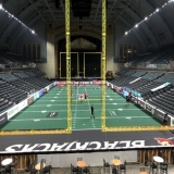 Arena football in Boardwalk Hall