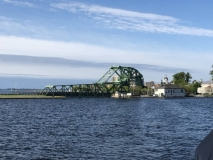 First bridge on Rideau on Cataraqui River