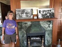 Fireplace in La Duchesse