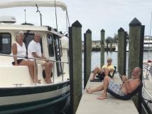 Bob & Kim (L) with John & Petti (R)