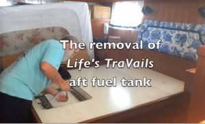 AFT TANK REMOVAL