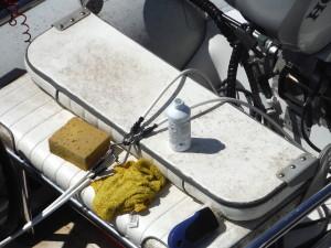 Dirty dinghy