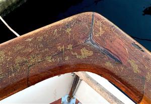Handrail - before