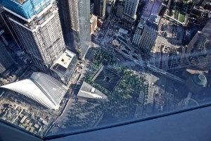 Reflecting Absence from the top of the Trade Center