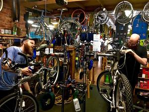 Murdock's bike shop