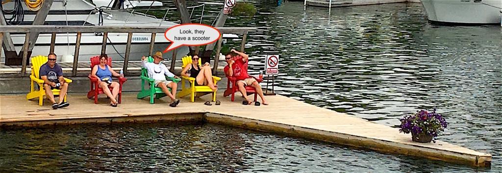 Boat watchers
