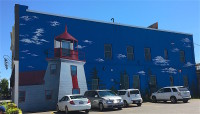 Midland lighthouse mural