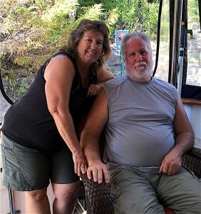Tom and Carolyn