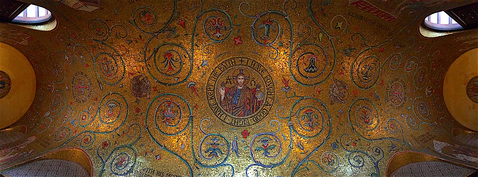 Ceiling in the Cathedral Basilica of St. Louis