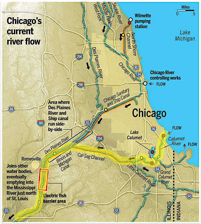 Chicago to Peoria –