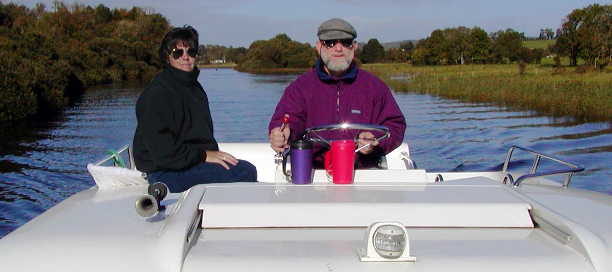 Flashback: Cruising the Shannon River in Ireland in 2004