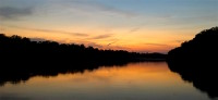Tensas River sunset