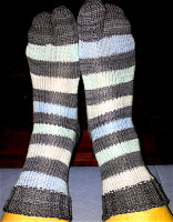 Tom's Heartland socks