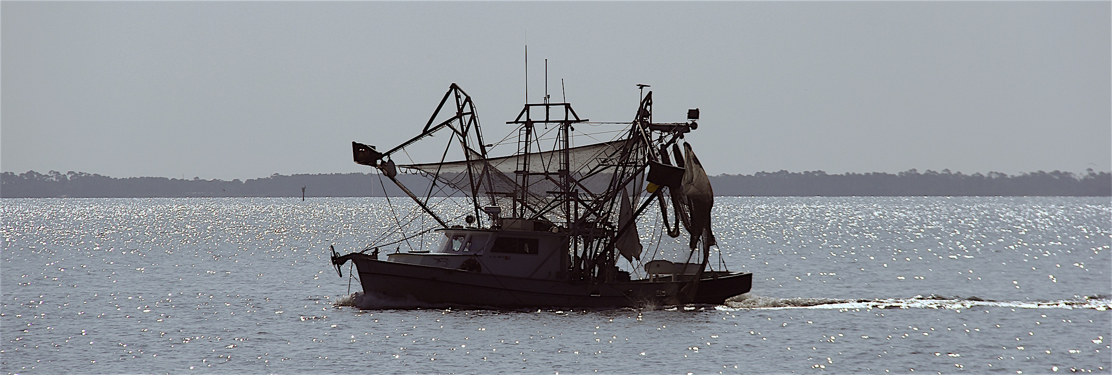 Typical shrimp boat
